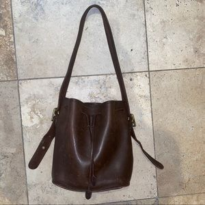 Vintage Coach Drawstring Bucket bag